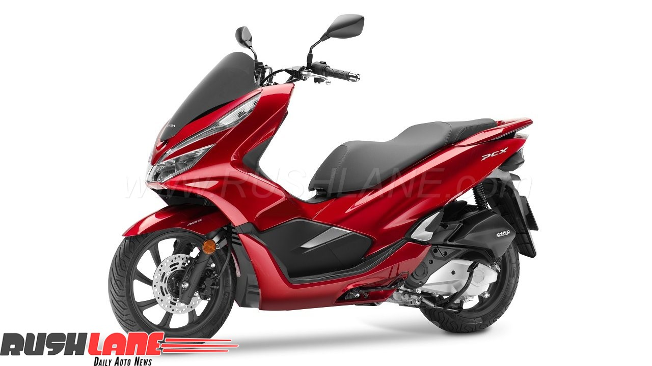 honda 39 s suzuki burgman styled new maxi scooter 2018 pcx 150 unveiled gets abs. Black Bedroom Furniture Sets. Home Design Ideas