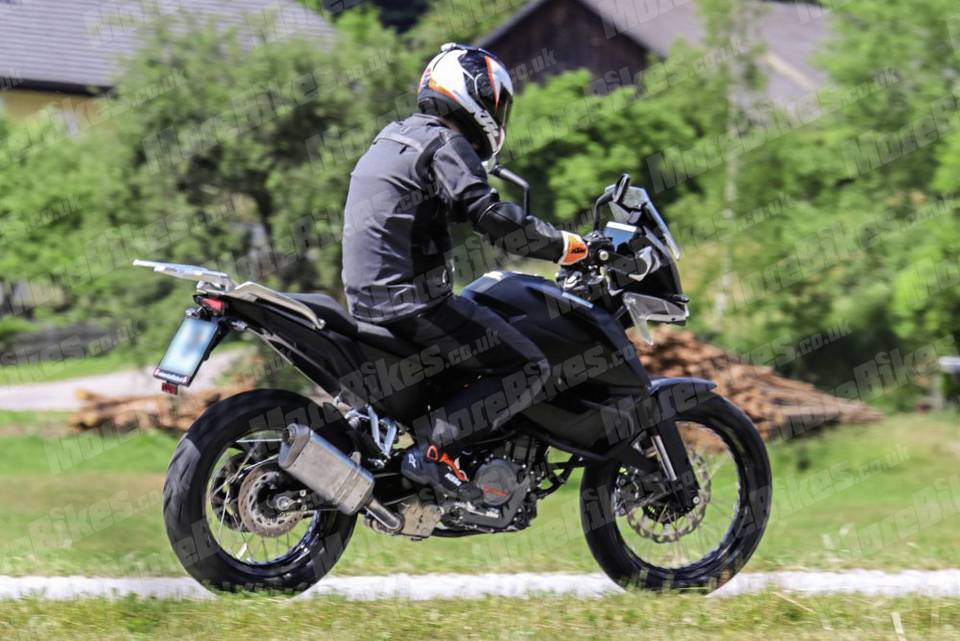 New Ktm 390 Adv Accessorized Variant Spied On Test With