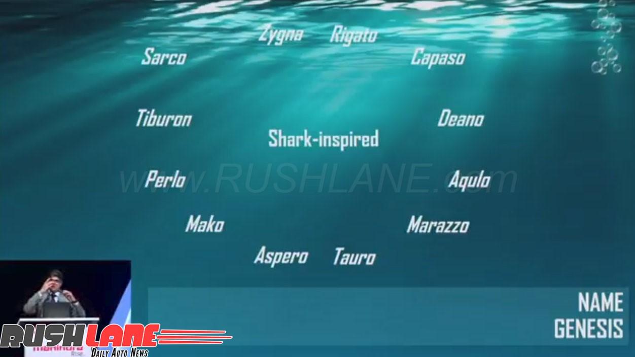 New Mahindra Marazzo Mpv Inspired By Shark Details
