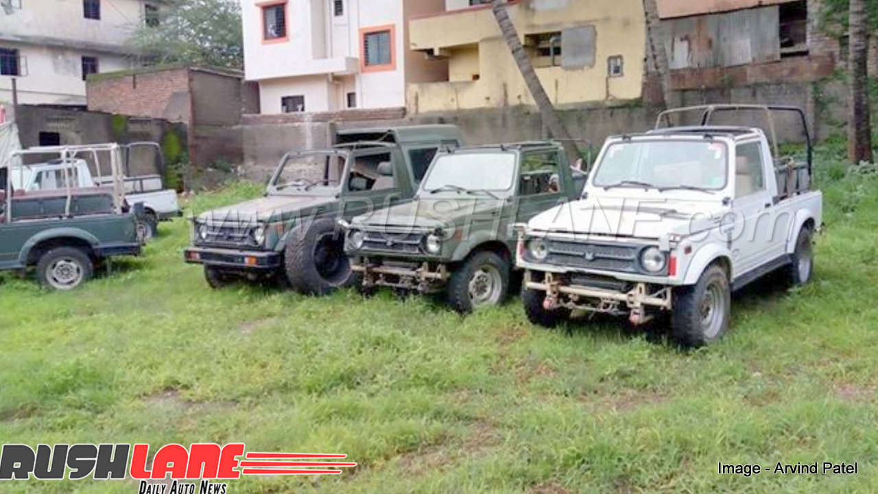 Update Maruti Gypsy Used By Indian Army Stock Sold Price Starts From Rs 1 Lakh