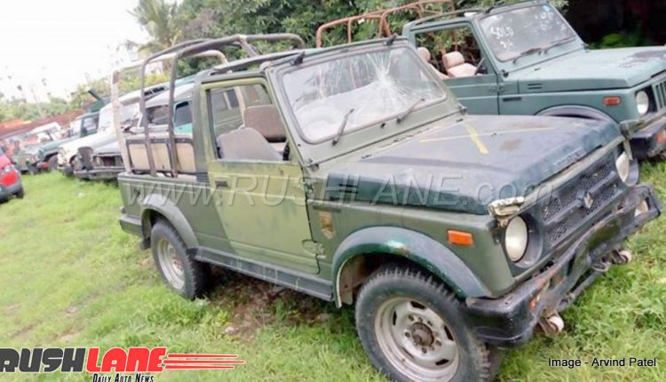 Update: Maruti Gypsy used by Indian Army stock sold- Price