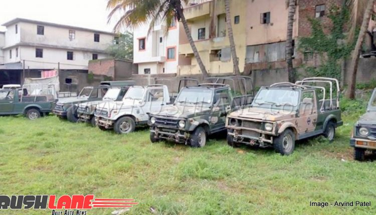 update  maruti gypsy used by indian army stock sold