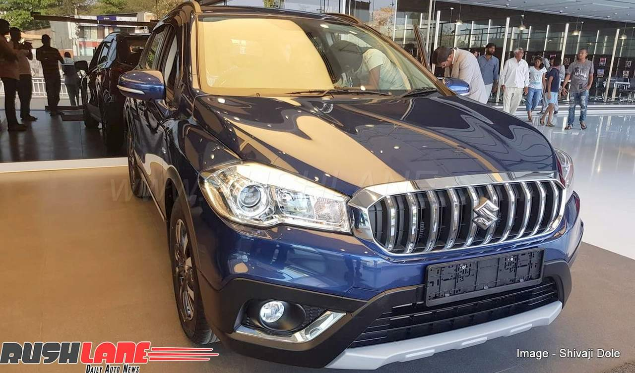 2018 Maruti S Cross With New Features Launched Can It Beat Hyundai