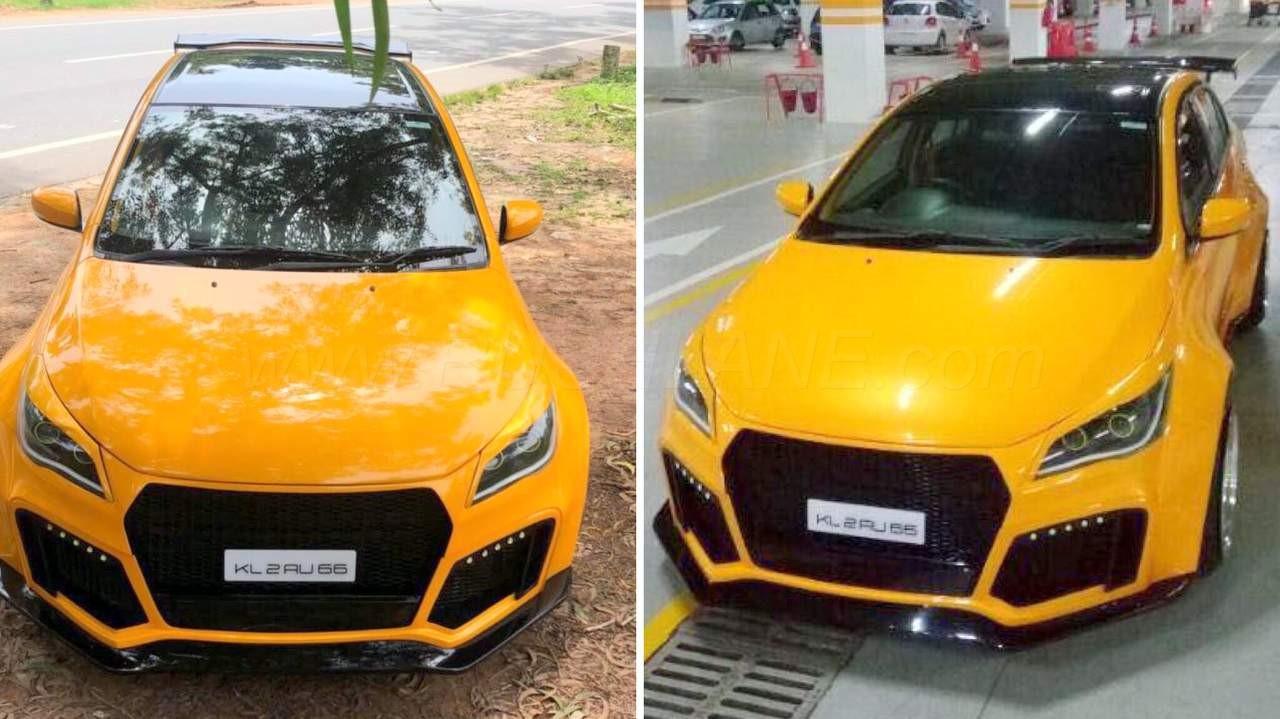 Maruti Ciaz Owner From Kerala Modifies His Car Gets Audi