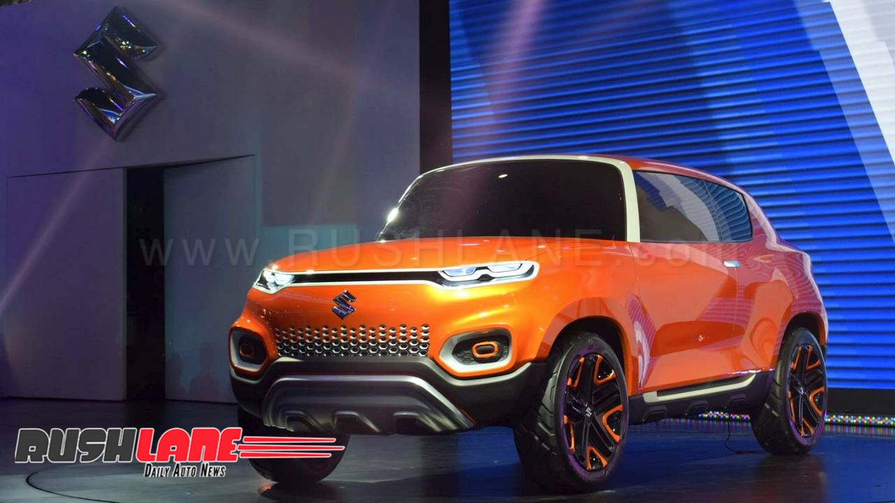 Maruti Future S Concept at 2018 Auto Expo.
