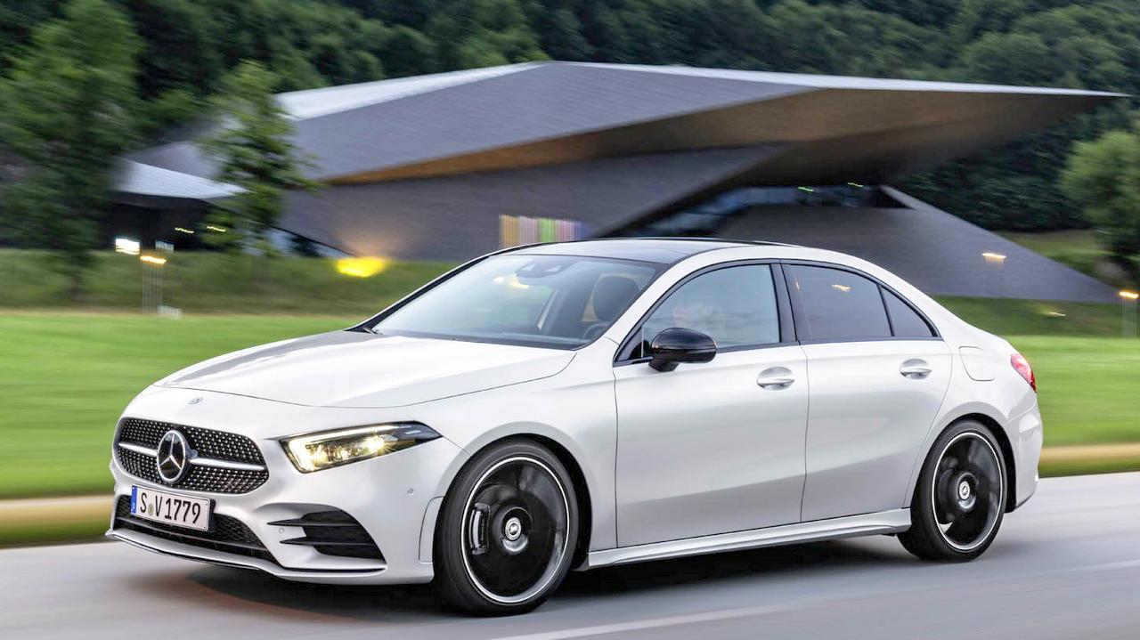 New Mercedes Benz A Class Sedan Debuts India Launch In 2019