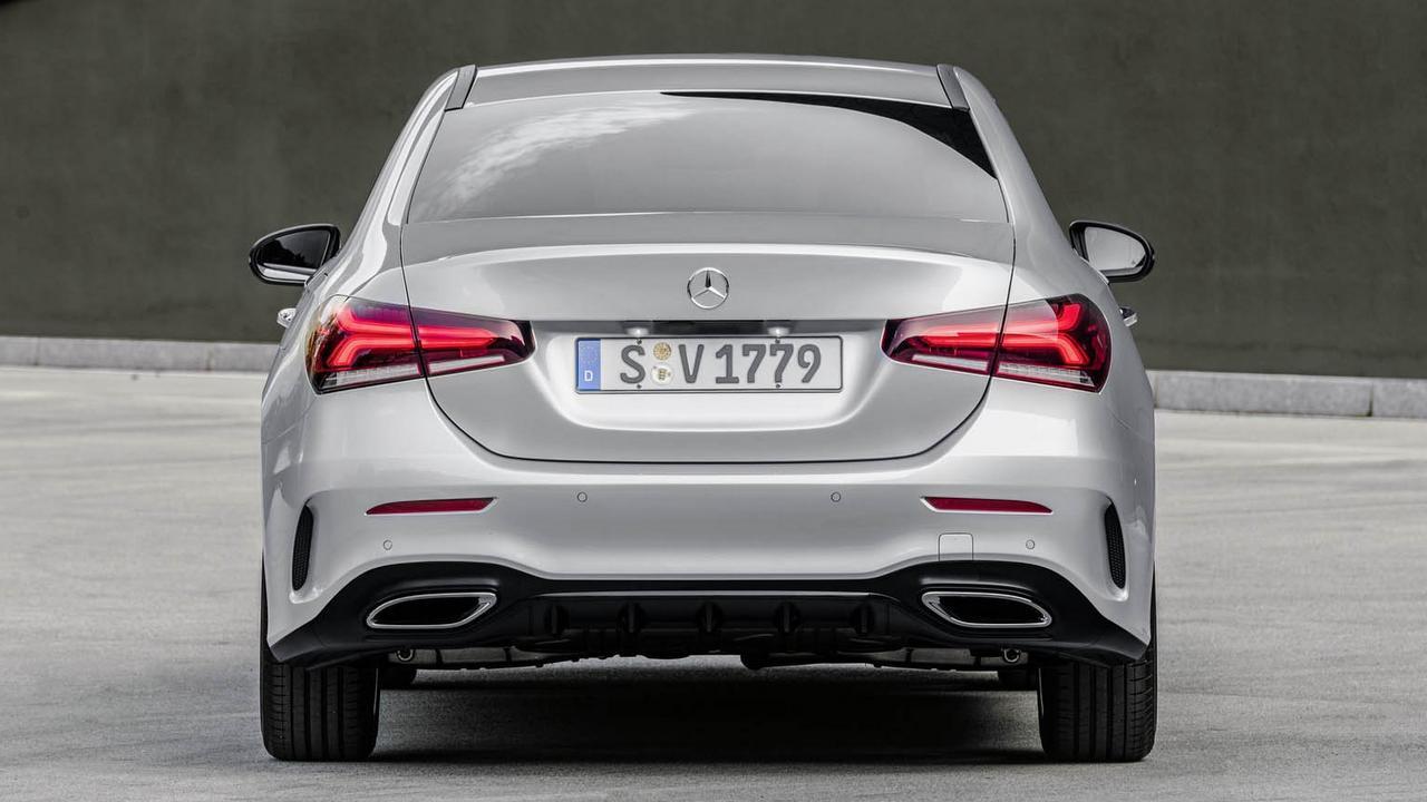 New Mercedes Benz A Class sedan debuts - India launch in ...