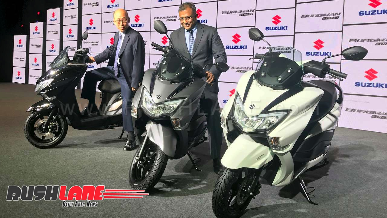 Suzuki Burgman 125 Launch Price Rs 68000 Honda Activa Rival