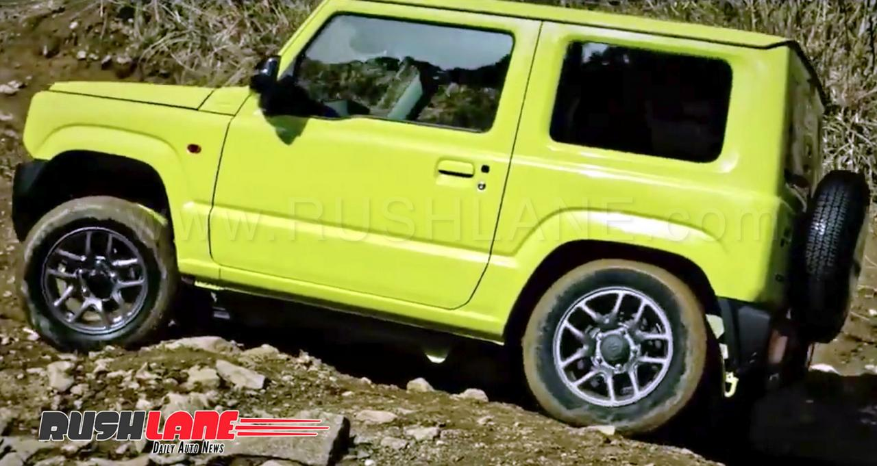 2020 Suzuki Jimny: News, Design, Release >> Maruti Suzuki Jimny Based Mini Suv India Launch By March 2020