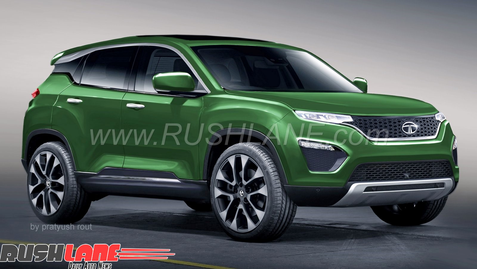 Tata Harrier To Get Online Configurator Upon Launch Just