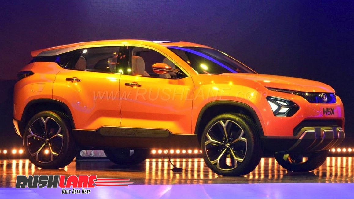 2019 Tata Harrier SUV website goes LIVE - Interested ...