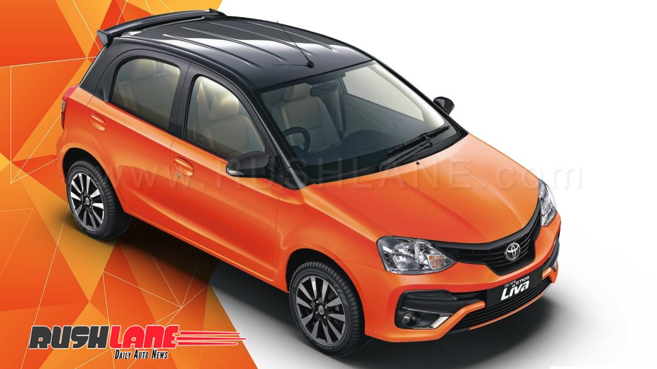 Toyota liva: dual-tone limited edition launched team-bhp.