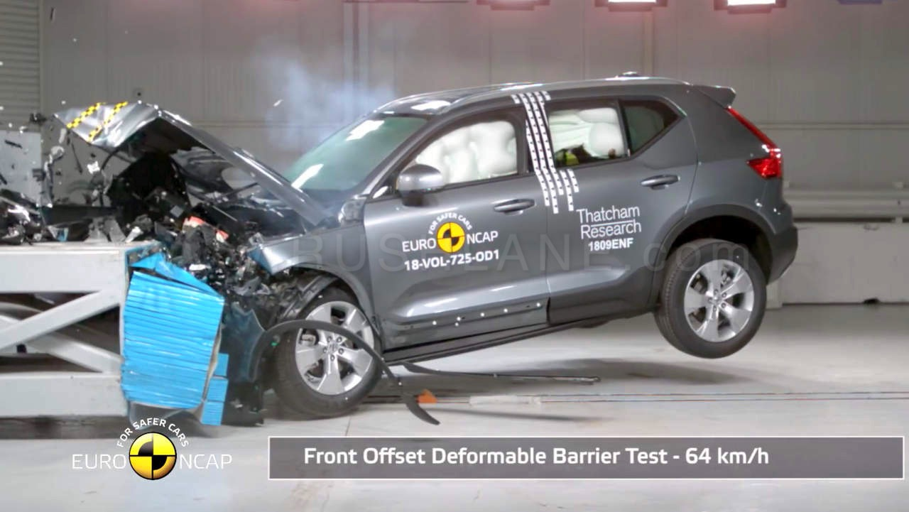 New Volvo Xc40 Suv On Sale In India Crash Tested Gets Top Safety