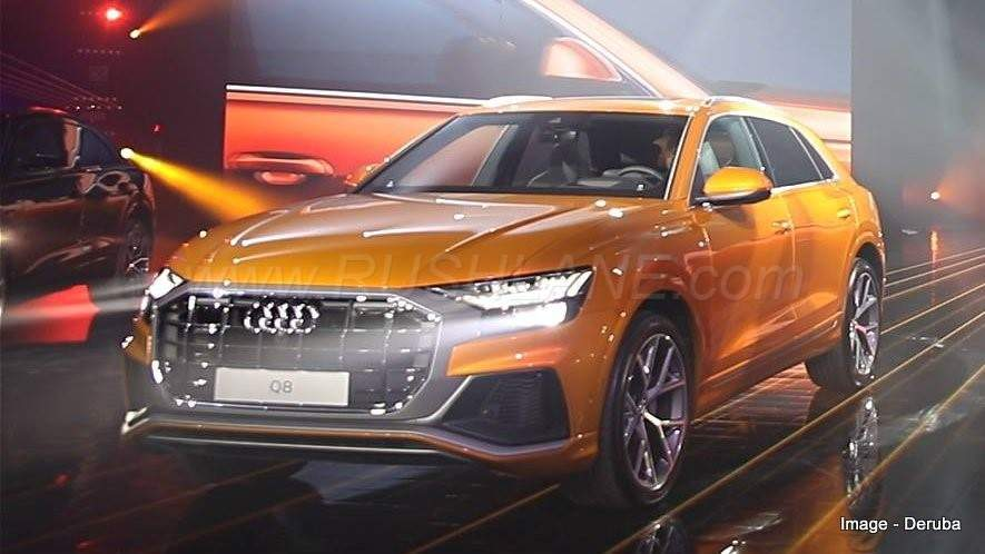New Audi Q8 Features A Host Of Outstanding Exterior With Distinctive Front Grille Wedge Shaped Headlamps Digital Matrix Laser Technology