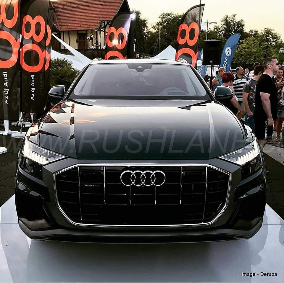 New Audi Q8 SUV Makes Public Debut In Europe