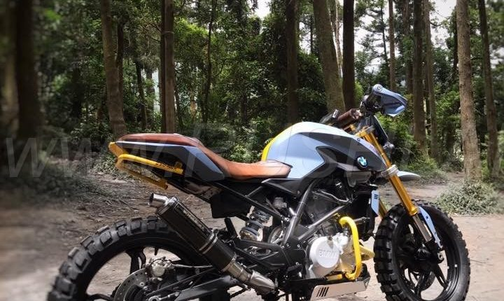 BMW Motorcycles Prices >> 2018 BMW G310R modified to beat the G310GS in off-roading