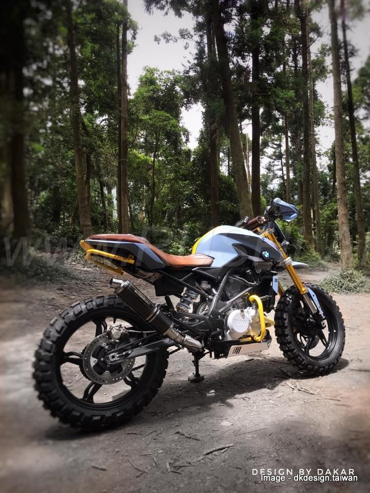 2018 Bmw G310r Modified To Beat The G310gs In Off Roading