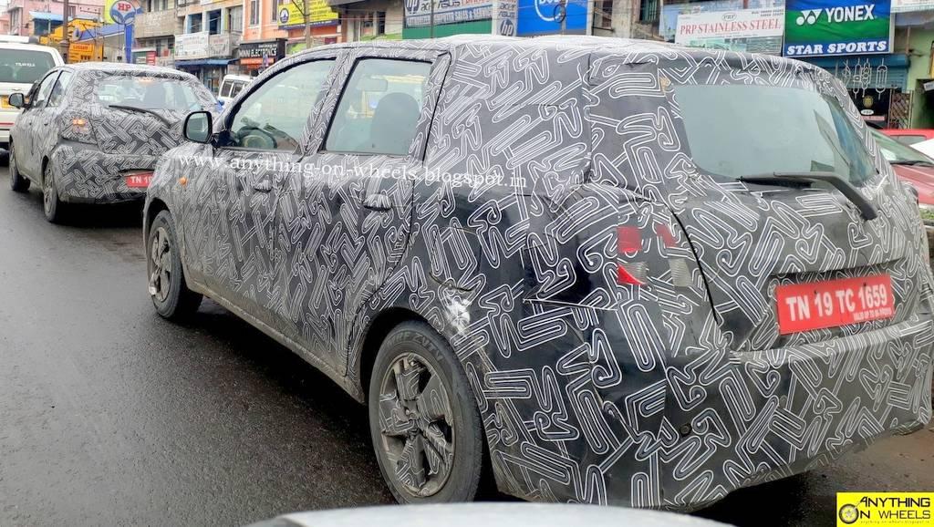 2018 Datsun Go And Plus Spied In India Rival To New Hyundai Santro
