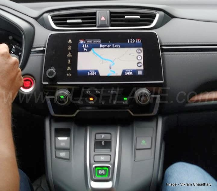 2018 Honda CRV diesel 1.6 gets button gear selector in ...