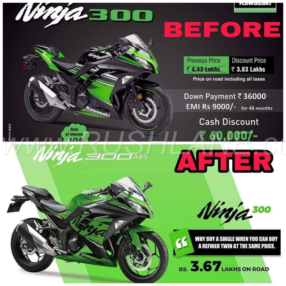 2018 Kawasaki Ninja 300 Unsold Cbu Units Being Offered At Huge Discount Green A Comfortable Seat Offering Relaxed Ride Position Well Positioned Handlebars Rear Set Foot Pegs And Sleek Fuel Tank Allow For Better Rider Comforts