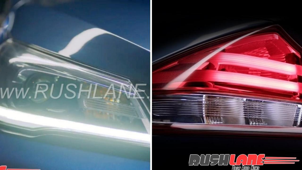 New Maruti Ciaz LED teased - All 319 Nexa dealers open to take