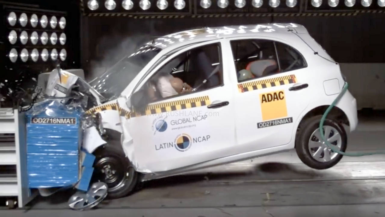 Car With Best Crash Test Rating In India