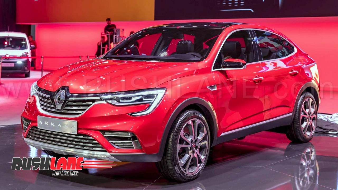 New Renault Arkana Suv Coupe Makes Global Debut Could Launch In India