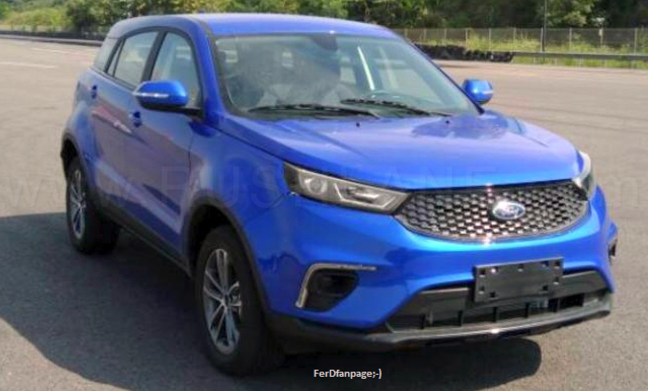 2019 Ford Territory SUV first images leaked - New Mahindra XUV500 rival