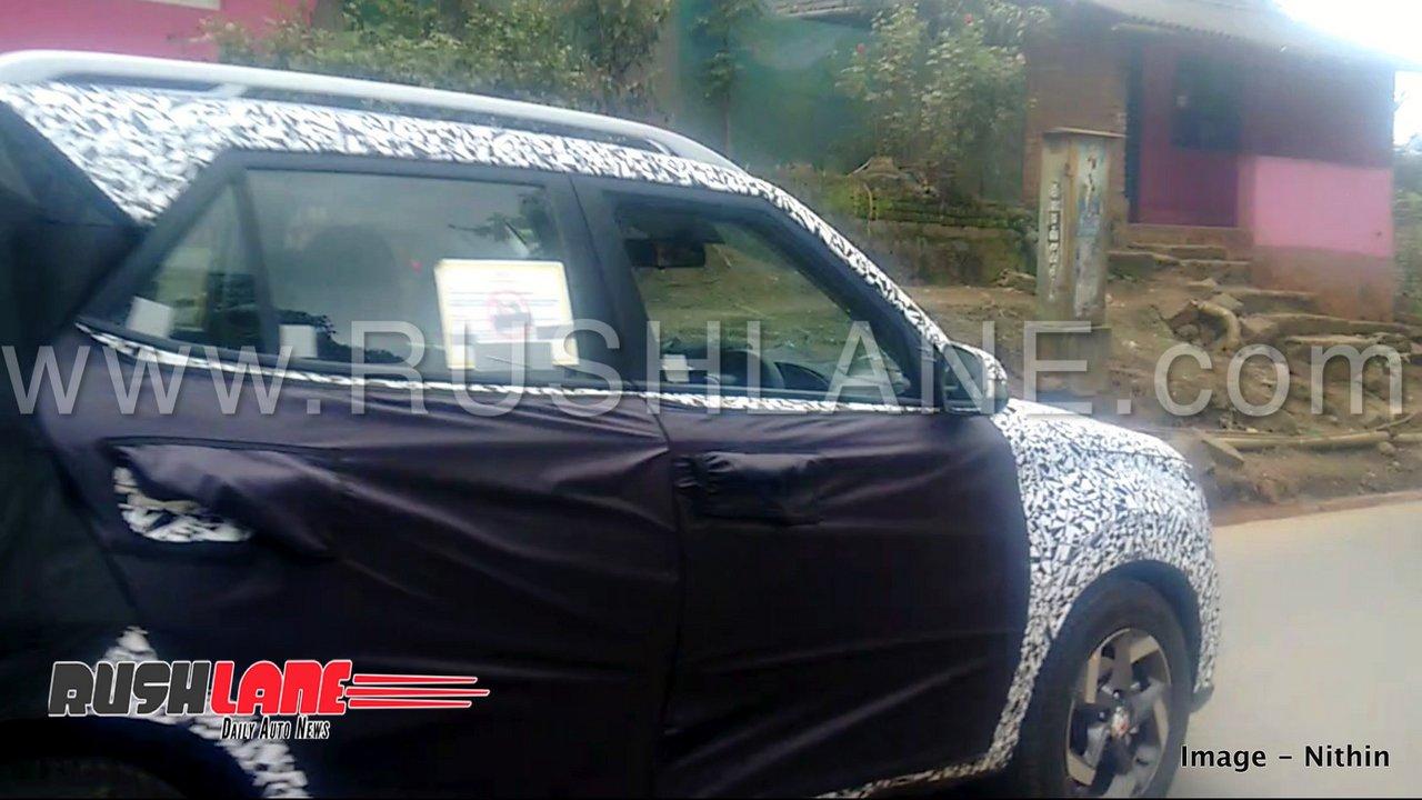 2019 Hyundai Carlino Suv Baby Creta Spied Maruti Brezza Tata