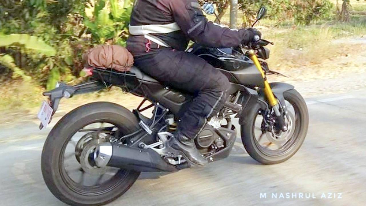 Magnificent 2019 Yamaha Xabre 150 Spied On Test New Suzuki Gixxer Rival Creativecarmelina Interior Chair Design Creativecarmelinacom