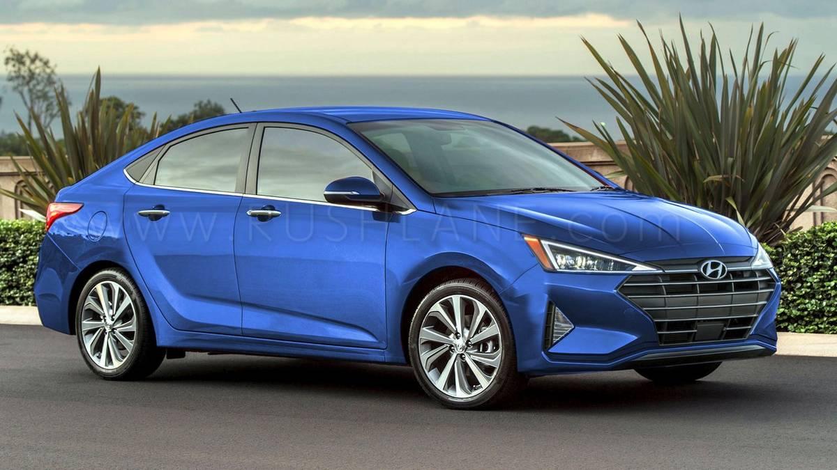 2019 Hyundai Verna Facelift Rendered In Electric Blue Maruti Ciaz
