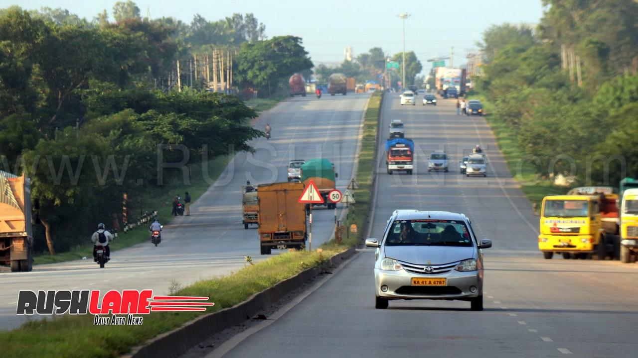 Hyderabad-Bangalore highway (for reference)