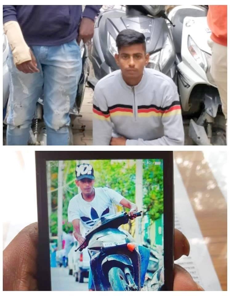 Honda Dio 2018 >> Honda Activa and Dio riders performing stunts - Caught by Bangalore Police