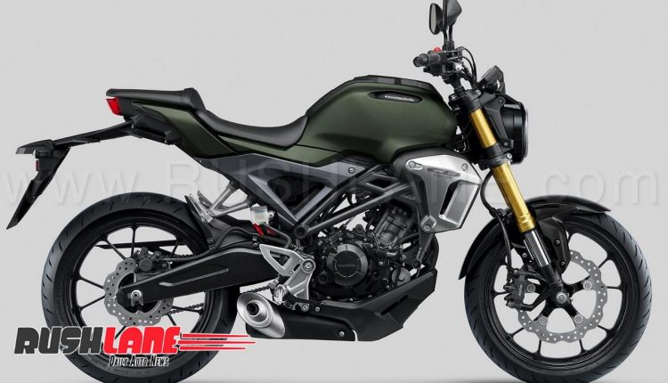 New Honda Cb150r Exmotion Patented In India