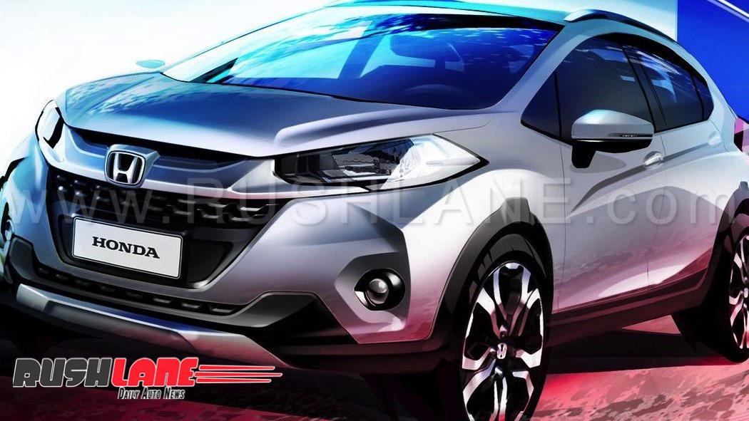 New Honda Suv >> New Honda Amaze Based Suv In The Making Maruti Vitara Tata Nexon