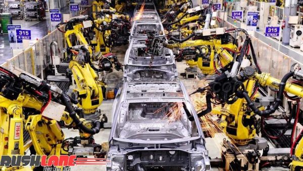 Hyundai India car plant