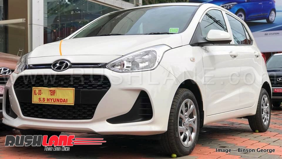 2018 Hyundai Grand I10 To Get Safety Feature Update Launch Before