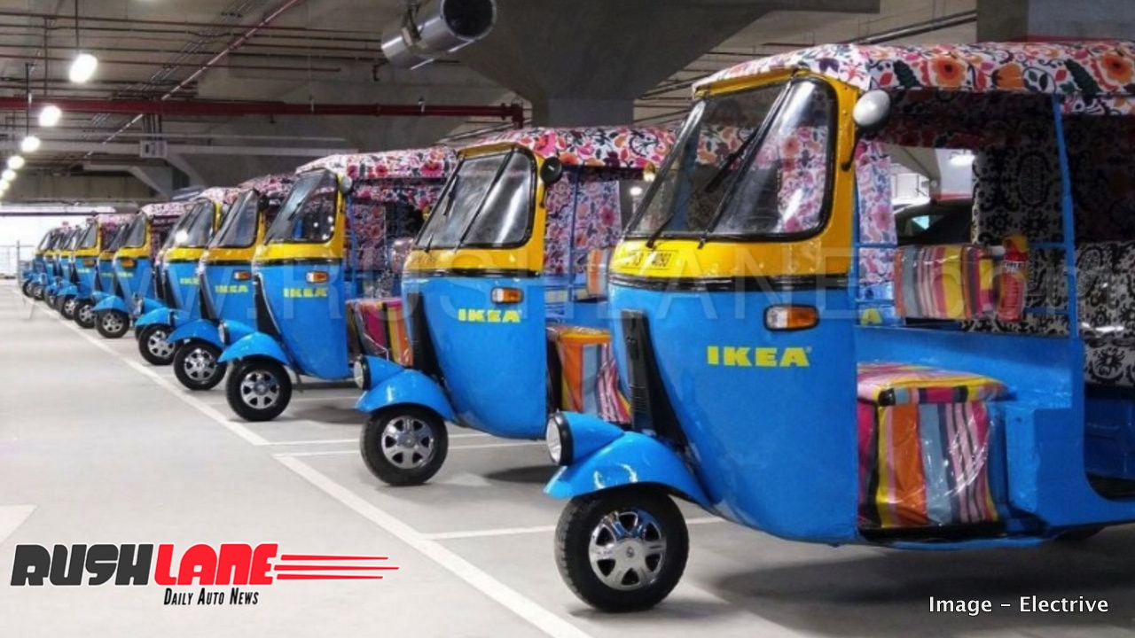 Ikea Hyderabad Has Electric Rickshaws For Home Delivery