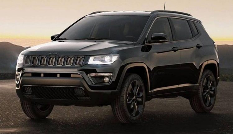 4 0 Jeep Engine >> 2018 Jeep Compass Black Night Edition India launch before ...