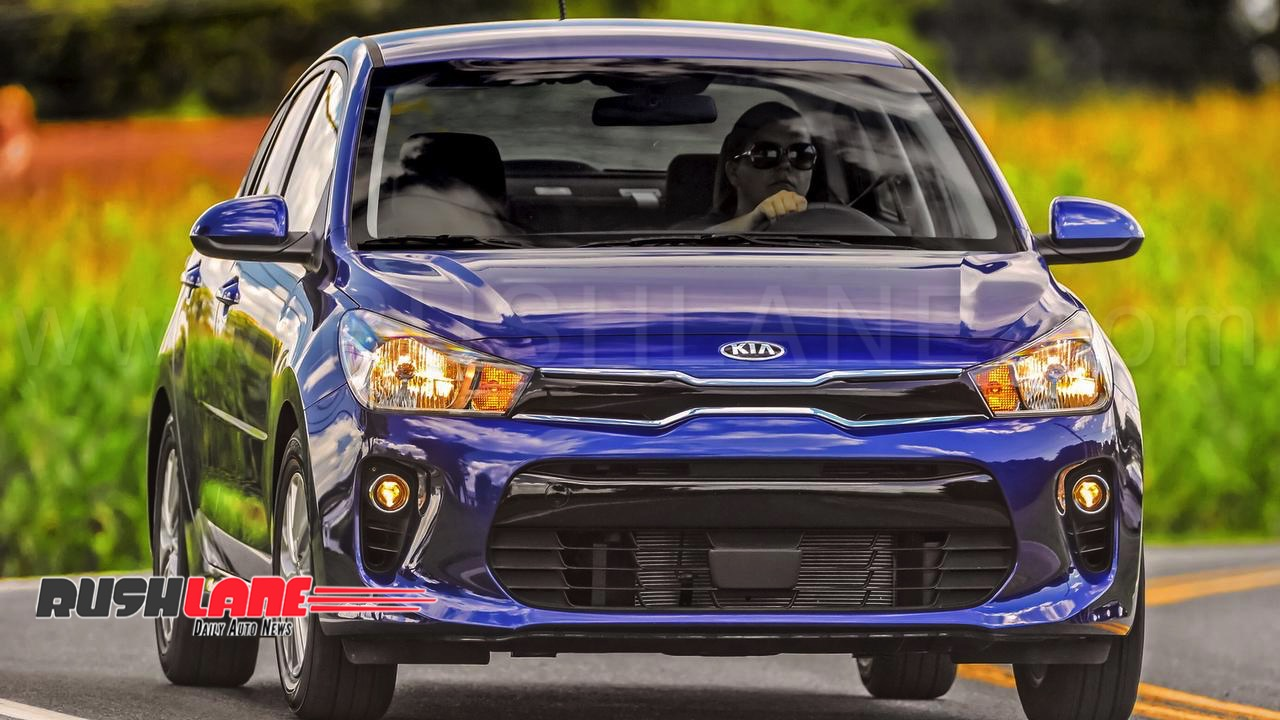 New Kia Rio Will Be Launched In India Takes On Hyundai I20