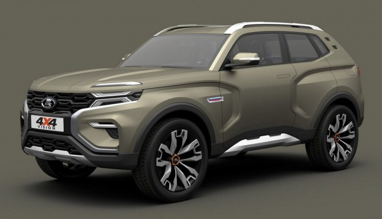 Renault Duster On Steroids Lada 4x4 Concept Makes Global