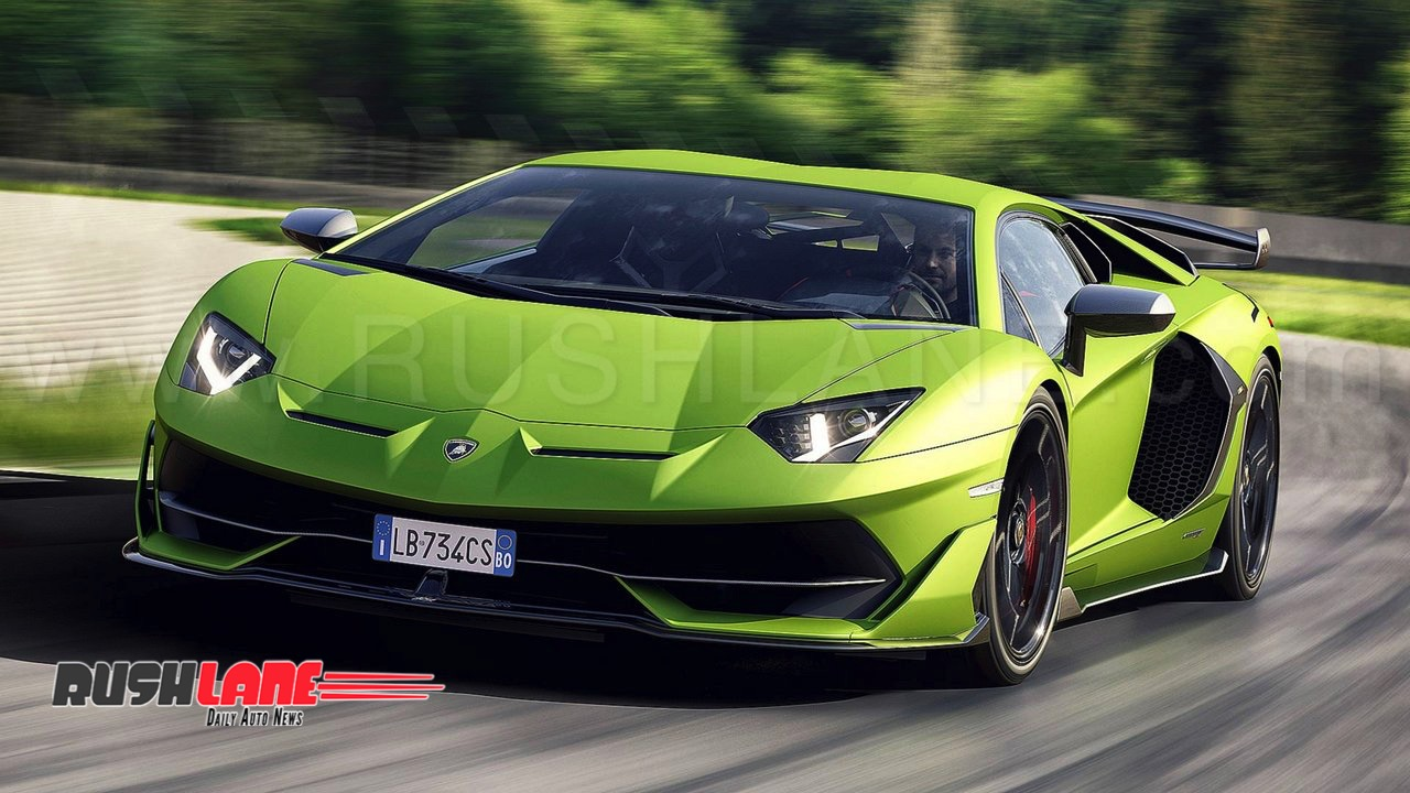 Lamborghini Aventador Svj India Launch Price