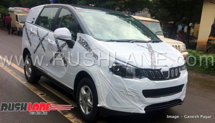 Mahindra Marazzo Mpv Red Blue Coloured Mid And Top