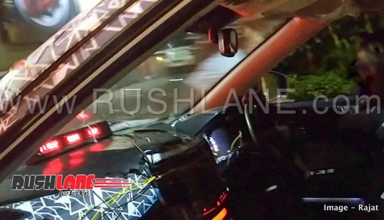Mahinda XUV300 SUV spied testing with Maruti Brezza ...