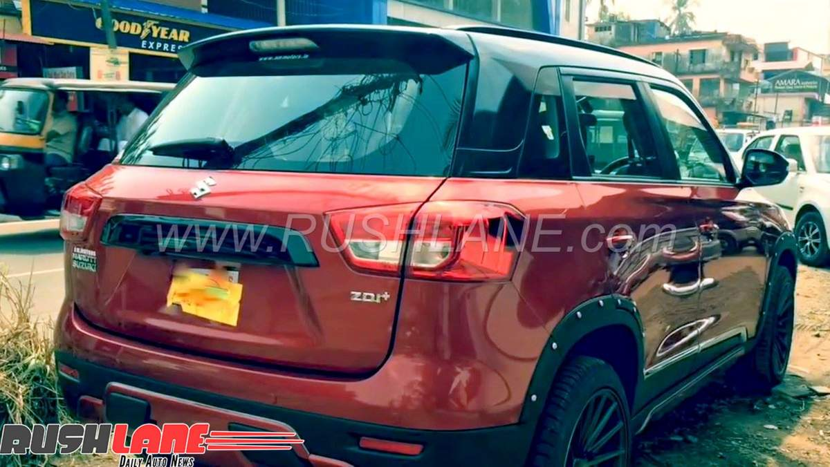 Maruti Brezza Grille Modified For Rs 3 600 Gives Look Of