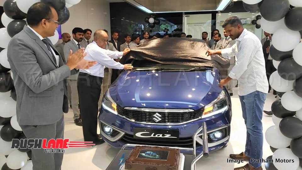 2018 Maruti Ciaz Prices Variants Compared With Old Maruti Ciaz