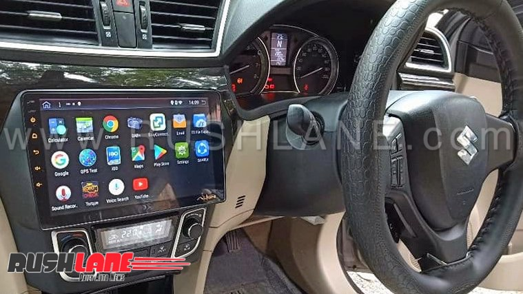 Maruti Dzire Swift 10 Inch Touchscreen For Old And New