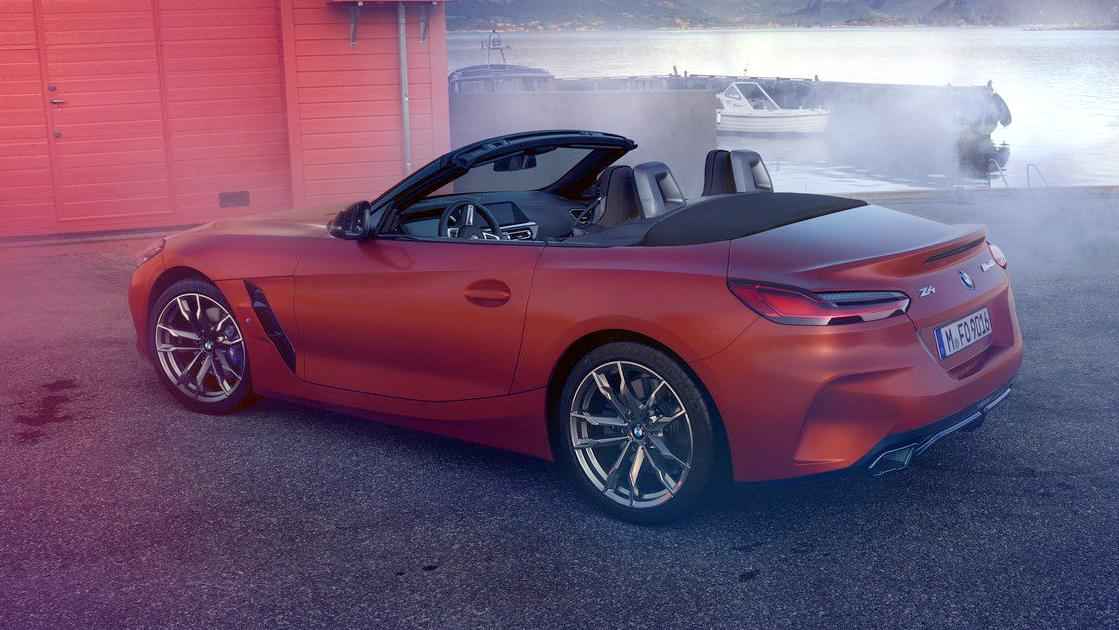 2019 Bmw Z4 Images Leaked Ahead Of Debut India Launch