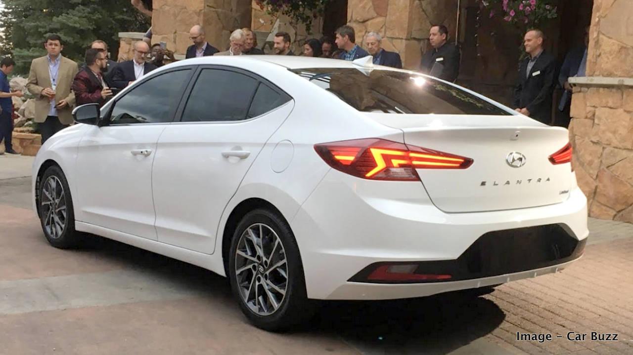 2019 Hyundai Elantra makes global debut - Toyota Corolla rival