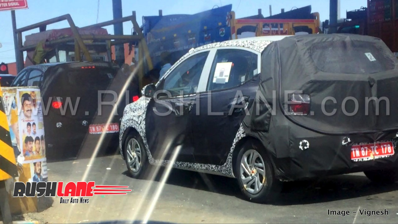 New Hyundai Grand I10 Petrol And Diesel Variant Spied Maruti Swift